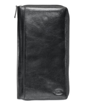 Equestrian2 Collection Rfid Secure Zippered Passport / Travel Organizer