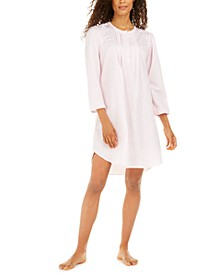 Women's Brushed Back Satin Nightgown