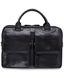 "Mancini Arizona Collection Double Compartment 15.6"" Laptop / Tablet Briefcase"