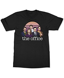 The Office Retro Sun Cast Men's Graphic T-Shirt
