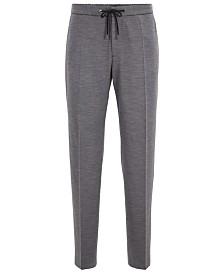 BOSS Men's Banks Slim-Fit Melange Trousers