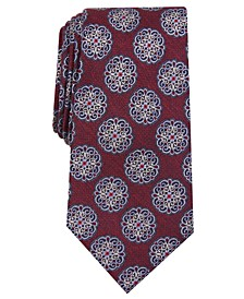 Men's Classic Medallion Tie, Created for Macy's