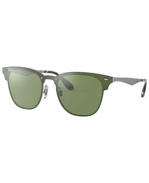 Ray-Ban Sunglasses, RB3576N 41 BLAZE CLUBMASTE