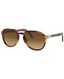 Polarized Sunglasses, PO3235S 55