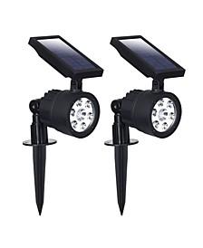 90mm Solar Spot Light, Pack of 2