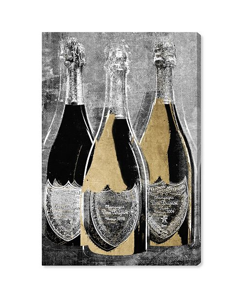 """Oliver Gal Dom Party for Three Canvas Art, 10"""" x 15"""""""