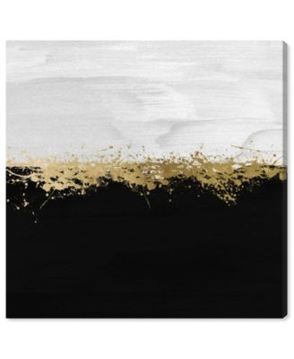 Halfway in Black and White Canvas Art, 24