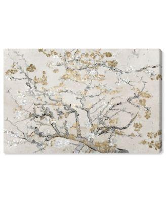 Van Gogh in Gold Blossoms Inspiration Light Canvas Art, 36