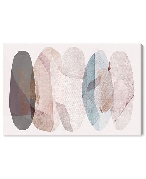 """Oliver Gal Leaf Shower Canvas Art, 24"""" x 16"""""""