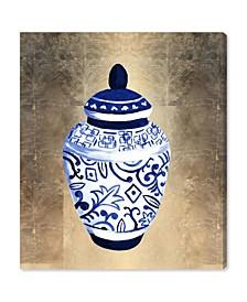 "Julianne Taylor - Chinese Porcelain Canvas Art, 30"" x 36"""