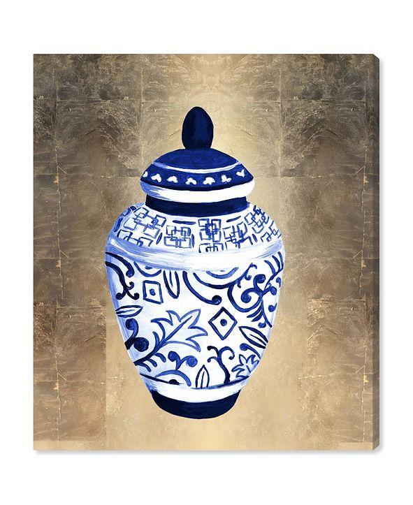 "Oliver Gal Julianne Taylor - Chinese Porcelain Canvas Art, 30"" x 36"""