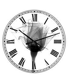 "Rose 10 X-Ray Large Cottage Wall Clock - 36"" x 28"" x 1"""