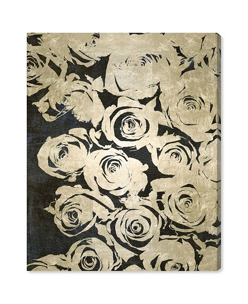 "Oliver Gal Dark Rose Canvas Art, 24"" x 28"""