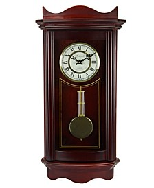 "Clock Collection 25"" Wall Clock with Pendulum"