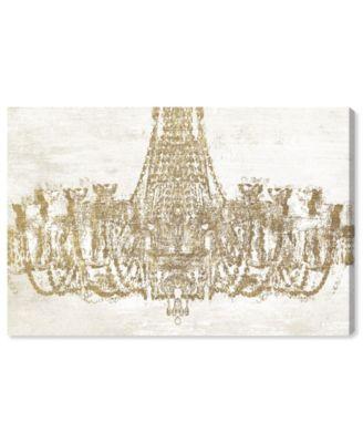 Glam Chandelier Canvas Art, 45