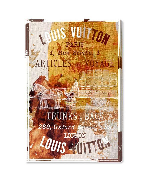 """Oliver Gal Articles De Voyage Canvas Art, 24"""" x 36"""""""