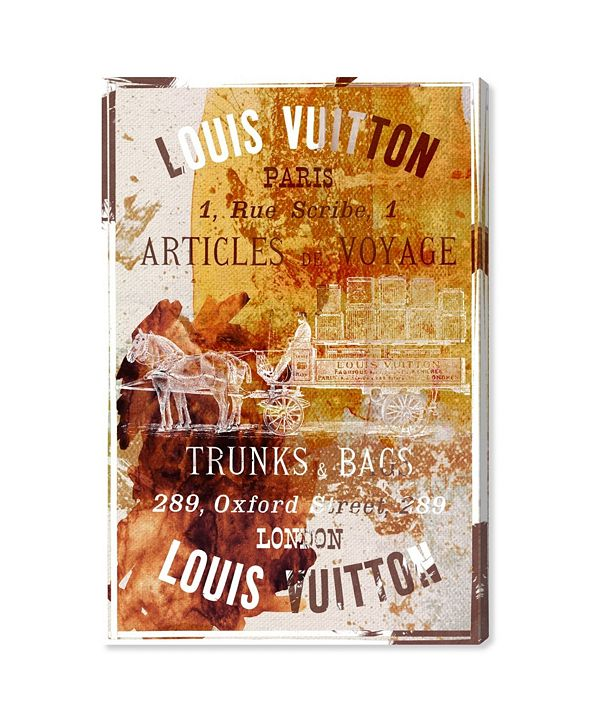 "Oliver Gal Articles De Voyage Canvas Art, 16"" x 24"""