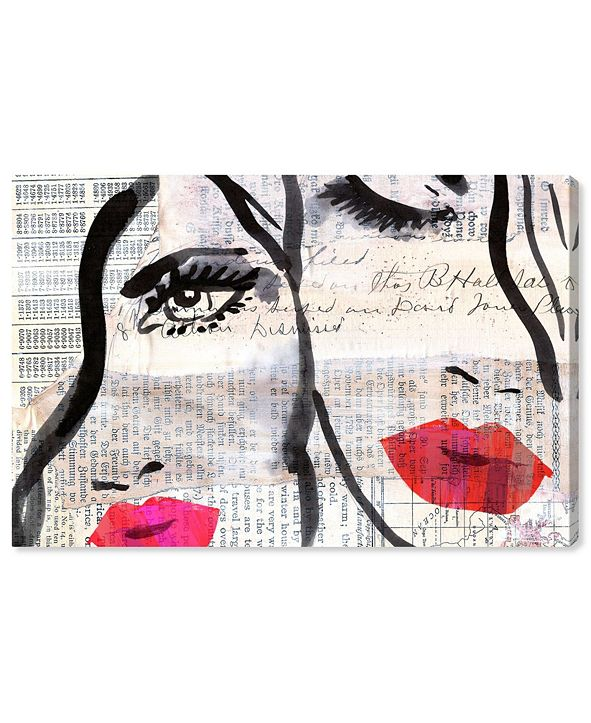 """Oliver Gal Sister Canvas Art, 36"""" x 24"""""""