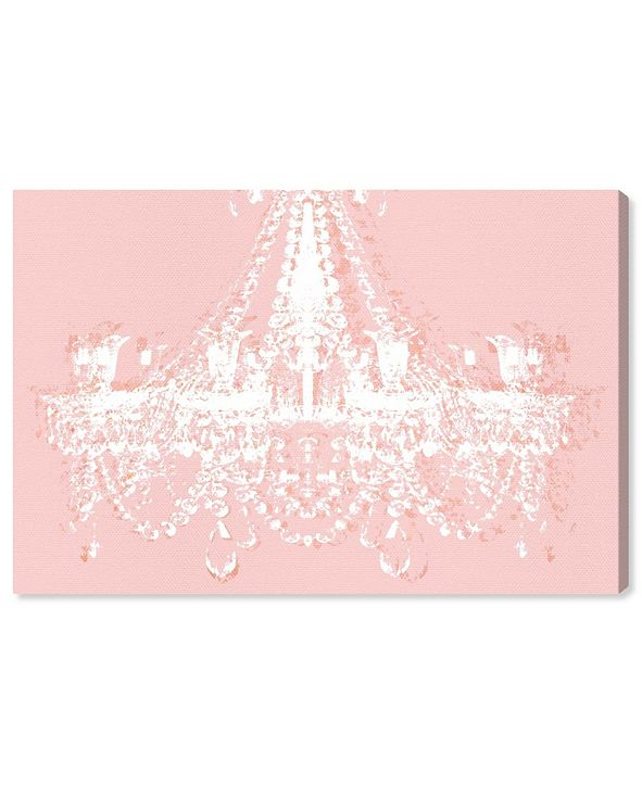 """Oliver Gal Dramatic Entrance Ballet Slippers Canvas Art, 24"""" x 16"""""""