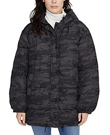Camo Puffer Coat