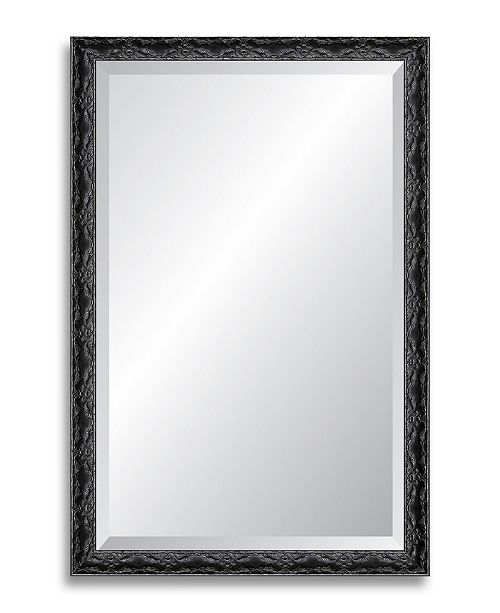 """Reveal Frame & Decor Reveal Ancestral Silver Beveled Wall Mirror - 25.5"""" x 39"""""""