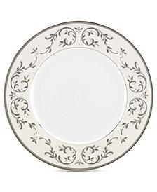 Lenox Opal Innocence Silver Dinner Plate
