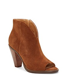 Jillrie Peep Toe Booties