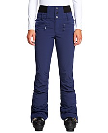 Juniors' Rising High Fleece-Lined Ski Pants