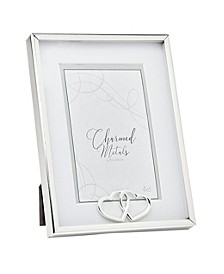 """Hearts Silver Frame - 6"""" x 8"""""""