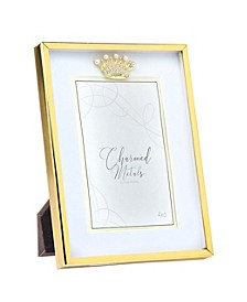 "Gold Crown Frame - 6"" x 8"""