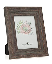 """Taupe Wood Frame - 5"""" x 7"""""""