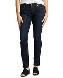 Avery Curvy Straight Jeans