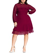 Red Plus Size Teen Dresses - Macy\'s