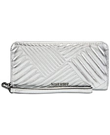 Rowan Zip Around Wristlet Wallet
