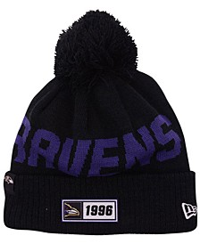 Baltimore Ravens Road Sport Knit Hat