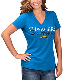 Women's Los Angeles Chargers Teamwork T-Shirt