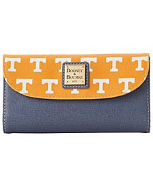 Tennessee Volunteers Saffiano Continental Clutch