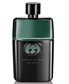 Gucci Guilty Men's Black Pour Homme Eau de Toilette, 1.6 oz