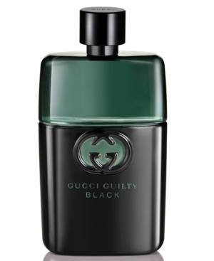 Gucci Guilty Men's Black Pour Homme Eau de Toilette, 1.6 oz