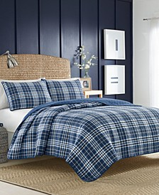 Millbrook Plaid Twin Quilt Set