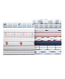 Nautica Cotton Percale Sheet Collection