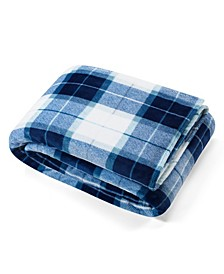 Plush Plaid King Blanket