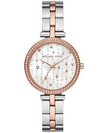 Women's Maci Two-Tone Stainless Steel Bracelet Watch 34mm