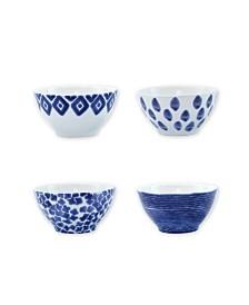 Vietri Santorini Assorted Cereal Bowls - Set of 4