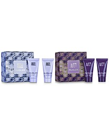 Choose your complimentary Angel or Alien Gift Set with any $100 purchase from the fragrance collection