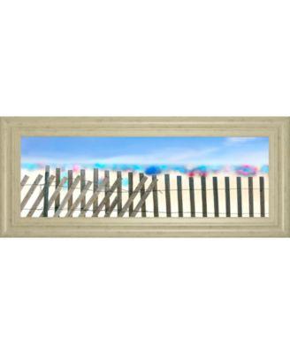 "Beachscape II by James Mcloughlin Framed Print Wall Art, 18"" x 42"""
