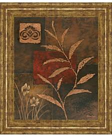 "Copper Rhythm II by Vivian Flasch Framed Print Wall Art, 22"" x 26"""