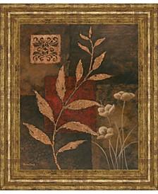 "Copper Rhythm I by Vivian Flasch Framed Print Wall Art, 22"" x 26"""