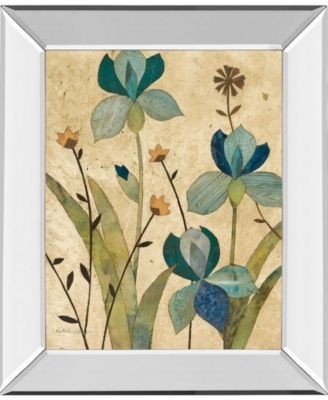 "Garden's Edge II by Charlene Olson Mirror Framed Print Wall Art, 22"" x 26"""