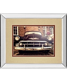 "Classic Ride II by Robert Jones Mirror Framed Print Wall Art, 34"" x 40"""